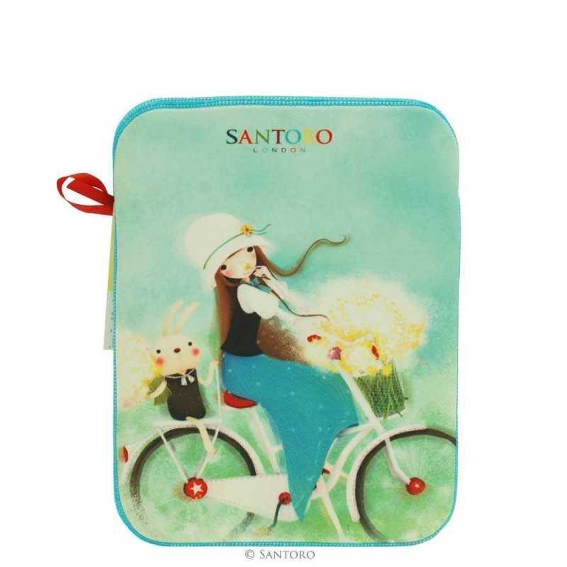 CUSTODIA IPAD Santoro KORI KUMI iPad2 sleeve busta SUMMERTIME 295KK01 TABLET case