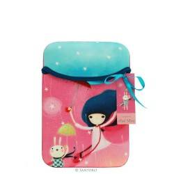 CUSTODIA IPAD MINI Santoro KORI KUMI iPad sleeve busta SUMMERTIME 375KK01 TABLET