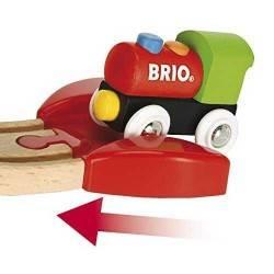 PRIMA FERROVIA CON PONTE in legno treni BRIO 33727 trenino My First Railway Beginner Pack