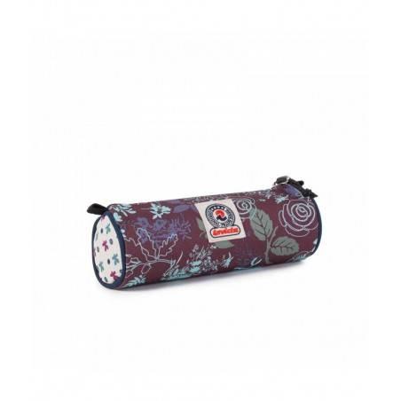 PORTAPENNE ASTUCCIO zip NOSE INVICTA busta PENCIL BAG tombolino FLOREALE cilindrico