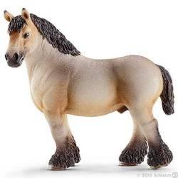 STALLONE DELLE ARDENNE stallion 13778 Schleich CAVALLO miniature in resina FARM