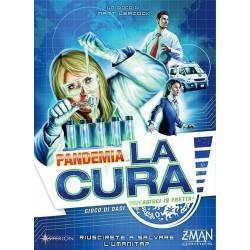 PANDEMIA - LA CURA gioco da tavolo CON 85 DADI in italiano ASTERION età 8+ carte