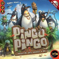 PINGO PINGO gioco da tavolo PARTY GAME italiano ASTERION età 6+ CON CD INCLUSO