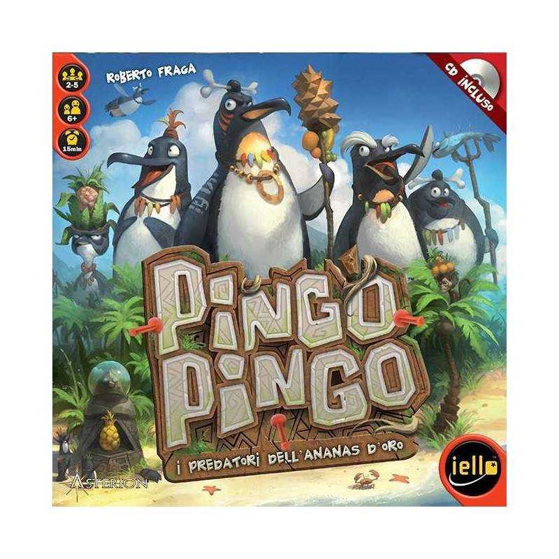PINGO PINGO gioco da tavolo PARTY GAME italiano ASTERION età 6+ CON CD INCLUSO