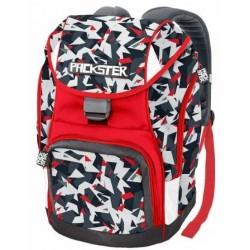 ZAINO PACKSTER or boy SPLINT cartella scuola CARTORAMA bianco e rosso