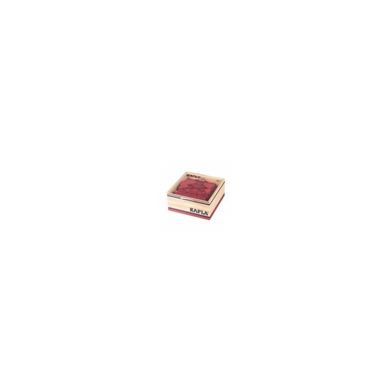 Kapla box 40 PCs rouge