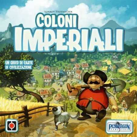 COLONI IMPERIALI gioco di carte di civilizzazione PENDRAGON gioco da tavolo in italiano 10+
