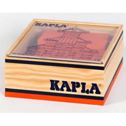 Kapla box 40 PCs Orange