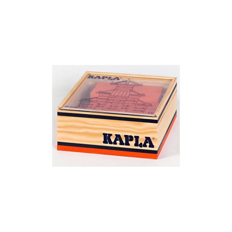 Kapla case 40 PCs Orange