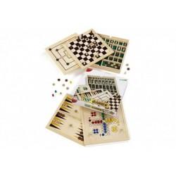 DAL NEGRO dalnegro TOP GAMES 5 giochi TOPGAMES scacchi dama tria backgammon ludo