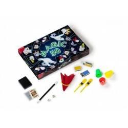 set MAGIC 50 kit giochi magici MAGIA prestigiatore DAL NEGRO dalnegro TRUCCHI