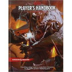 DUNGEONS & DRAGONS Player's Handbook 5a V EDIZIONE in inglese