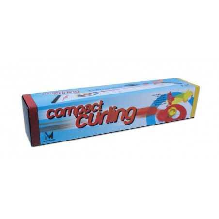 COMPACT CURLING gioco in miniatura OLIPHANTE età 6+ PISTA DA 1,2 METRI funziona!