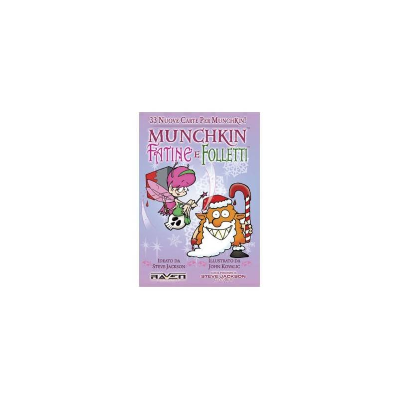 Munchkin Fairies and elves: expansion
