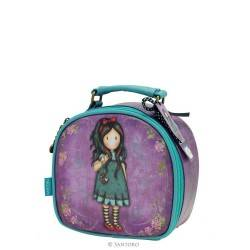 Gorjuss BEAUTY CASE trousse portagioie PULLING ON YOUR HEART STRINGS 406GJ04 borsa SANTORO