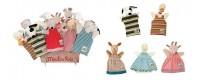 Burattini da dita finger puppet Fiesta Crafts