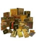 Diaries, address books, agendas, securitary accessories