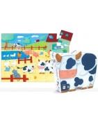 Djeco et Ravensburger puzzles jusqu'à 500 pièces (pour les enfants)