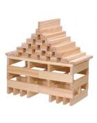 Glueless wooden constructions Kapla Walachia EQB 3dino