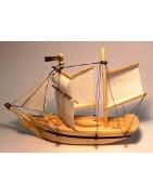 Barche e navi in legno