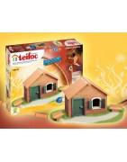 Modélisation pour les enfants avec des briques Teifoc